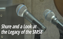 The Shure SM58 Microphone