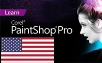 Learn PaintShop Pro: English
