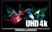 Ultra HD 4 K Televisions