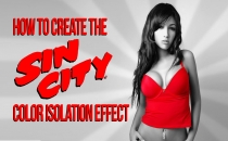 Create The Sin City Effect