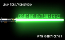 Learn Corel Create The Light Saber Effect