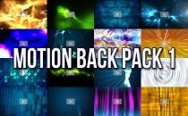 Motion Back Pack 1: Paul's Favorite Motion Backgrounds