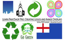 PaintShop Pro: Create Logos and Image Overlays