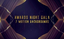 Awards Night Gala Motion Backgrounds Premium Pack