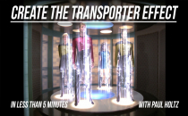 Create a Star Trek Transporter Effect with Sound Effect