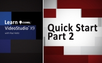 Learn Corel: VideoStudio X9 Quick Start Part 2