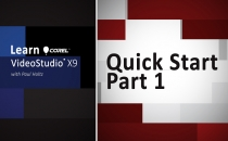 Learn Corel: VideoStudio X9 Quick Start Part 1