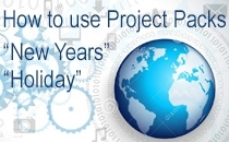 Corel VideoStudio NewYears & Holiday ProjectPack