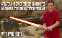 Create The Light Saber Effect in less than 5 minutes