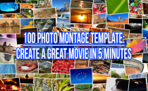 Template: 100 Photo Montage in Just Minutes!