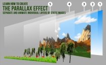 How To Create The Parallax Effect