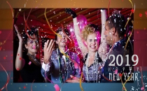 Corel VideoStudio 2017,18,19 New Years Video Postcard