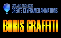 Keyframed Animations in Boris Graffiti