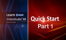 Learn Corel: VideoStudio X8 Quick Start Part 1