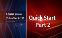 Learn Corel: VideoStudio X8 Quick Start Part 2