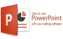 Exporting Power Point Slides For Use In Your Editing Program