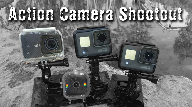 3 Action Cameras Compared
