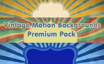 Vintage Motion Backgrounds Premium Pack