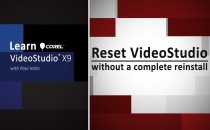 Reset VideoStudio Without a Re-install