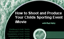 Shoot/Produce using iMovie