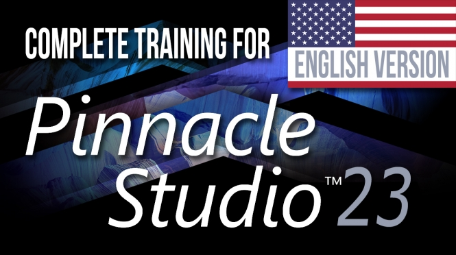 New! Complete Training for Pinnacle studio 23