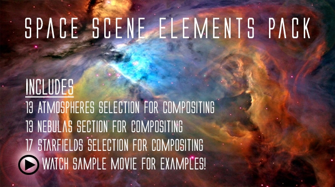 4K Space Elements Pack