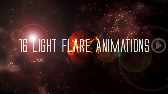 Flares/Light leaks Overlay Pack W/Alpha Channel