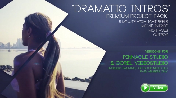 Dramatic Intro Premium Project Pack