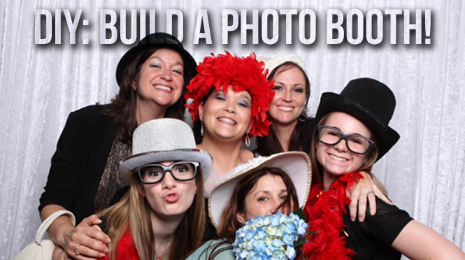 DIY! Build your own Photo Booth