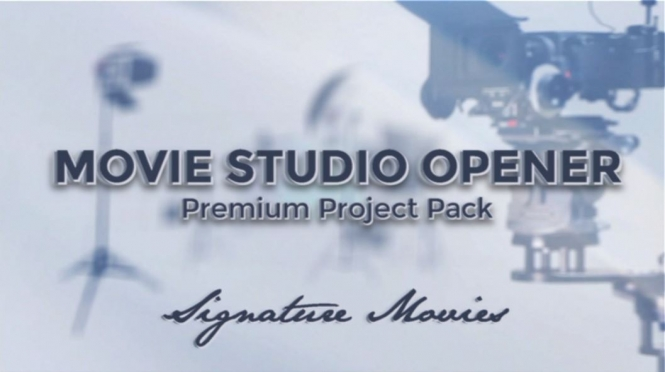 Signature Series Movie Studio Opener Premium Project pack