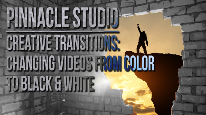 Creative Pinnacle Transitions: Black & White to Color