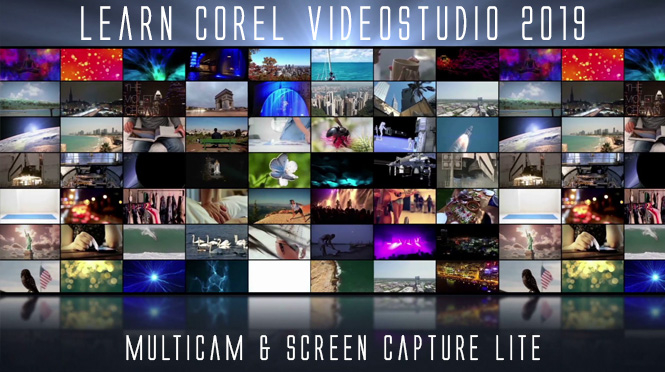 Corel VS 2019: MultiCam & Screen Capture Lite