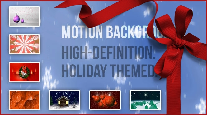 Festive, Motion Backgrounds