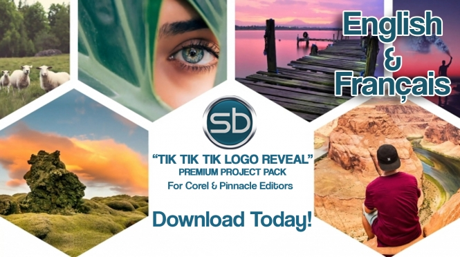 "New ""Tik Tik Tik Logo Reveal"" Premium Project Pack!"