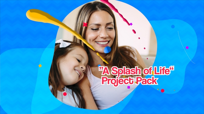 """A Splash Of Life"" Premium Project Pack"