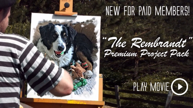 """The Rembrandt"" Premium Project Pack. NEW!"