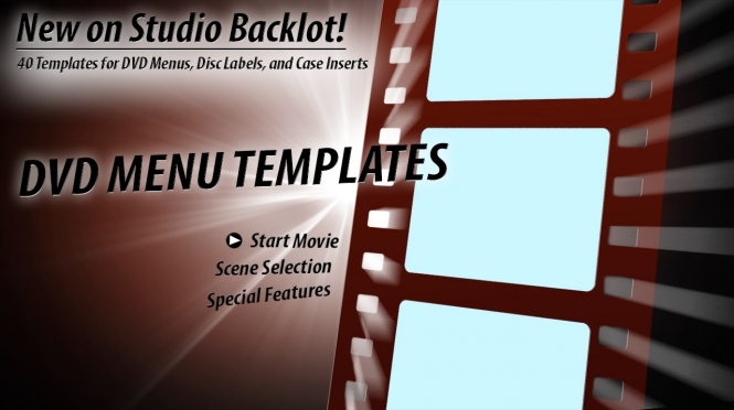 New! 40 DVD Menu pack!