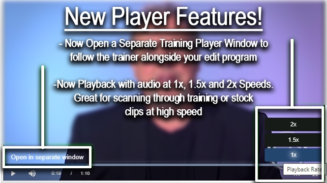 New Player Features!