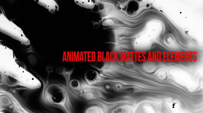 New! Animated Black Mattes