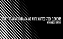 How to use Animated Black & White Mattes