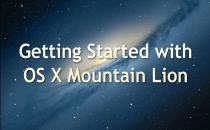 Getting Started with Apple's OSX Mountain Lion
